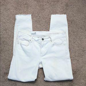 Gap legging jeans white 26